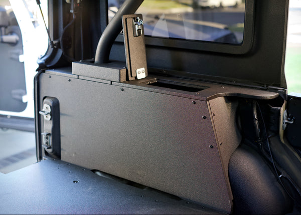 Goose Gear Jeep Cubbies: Finally a finished cargo area with storage!