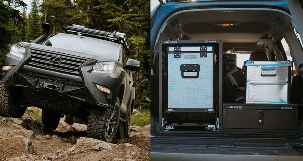 The Goose Gear + Lexus GXOR Concept (GX Off-Road)
