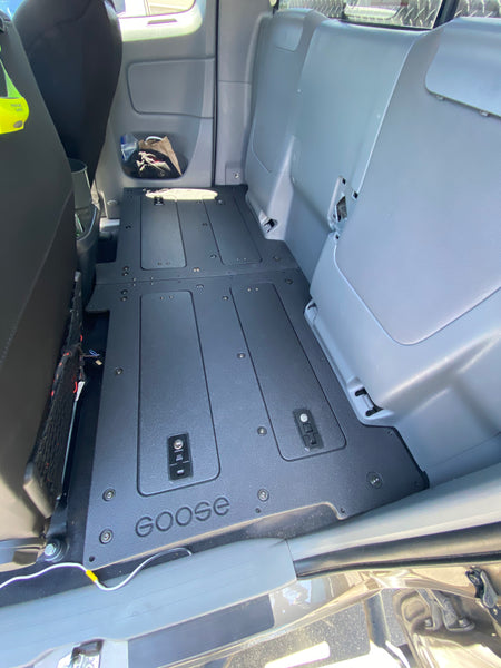 2015 Tacoma Access Cab Second Row Delete