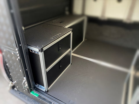 AluCab Canopy Camper Double Drawer V 2.0