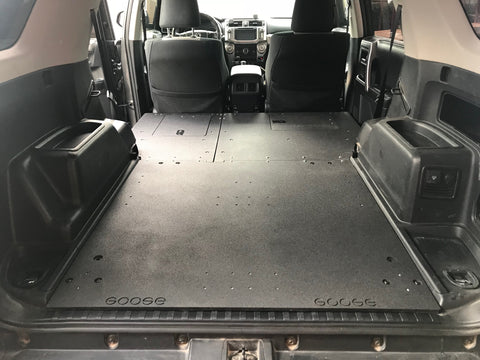 With The 4Runner LOW PROFILE Sleeping Platform You Can Now Set Up Your Rig For Stealth Camping And Get Even More Comfortable Interior Height