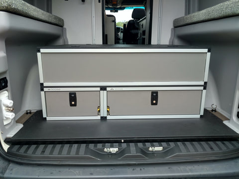 Winnebago Revel Top Storage System and Base Drawer System