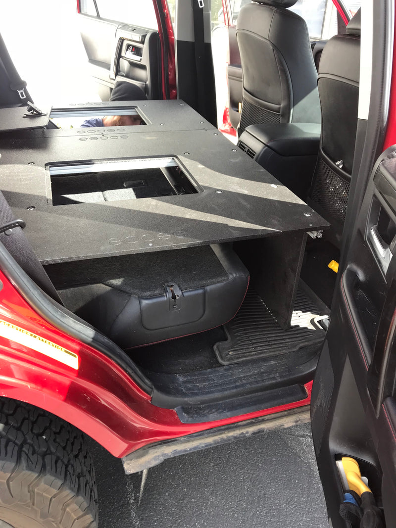 Stealth Sleep and Storage Package for 4Runner 5th Gen with 3rd Row Seat
