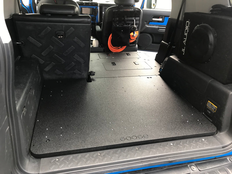 FJ Cruiser Second Row Delete / Sleeping Platform - Low Profile