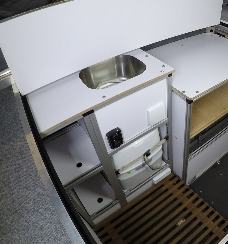 AT Habitat Sink/Storage Cabinet