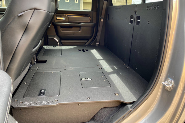 Ram 5th Gen 2019 - Present Crew Cab Rear Seat Deletes