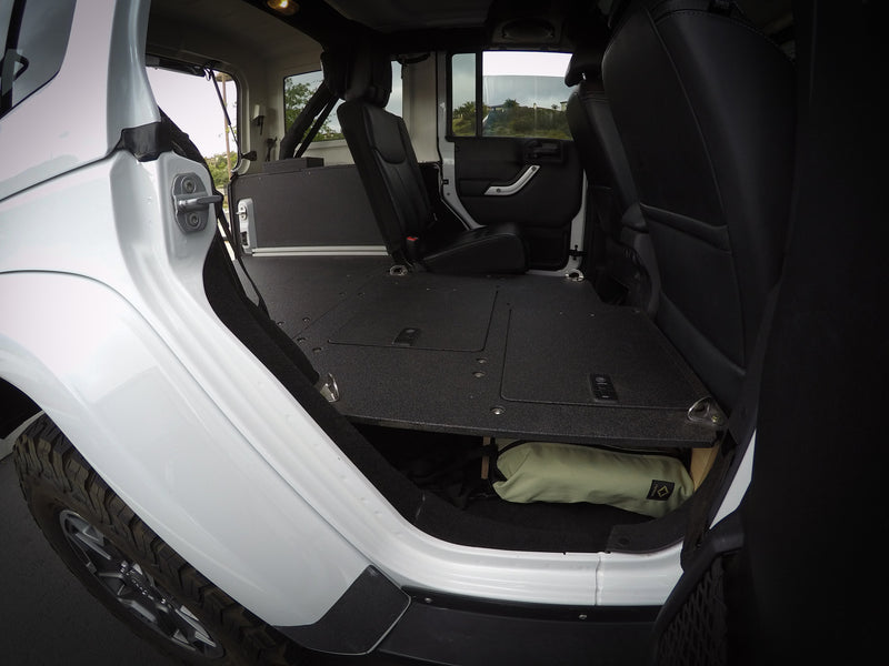 Jeep JKU Sleeping Platforms