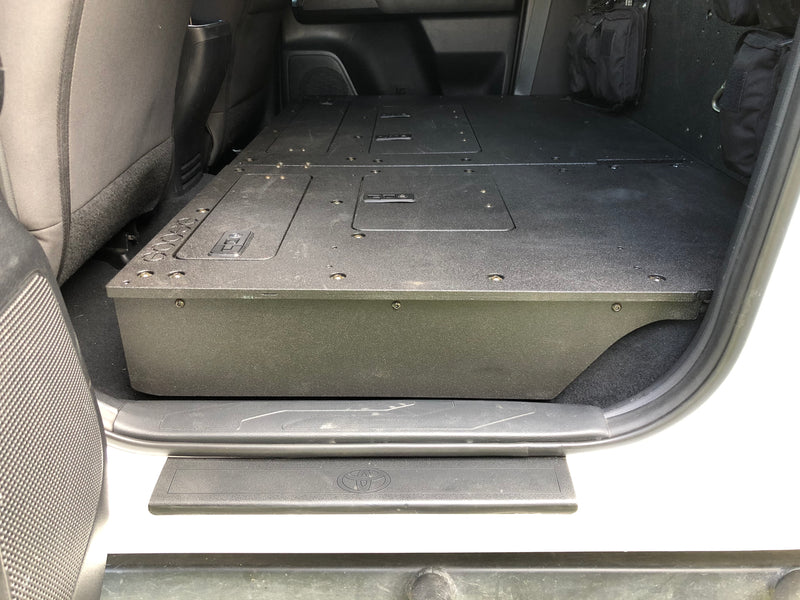 Tacoma 2nd and 3rd Gen Double Cab Seat Delete Infill Panels