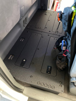 Tacoma Access Cab 2nd Row Seat Delete for 2nd Generation