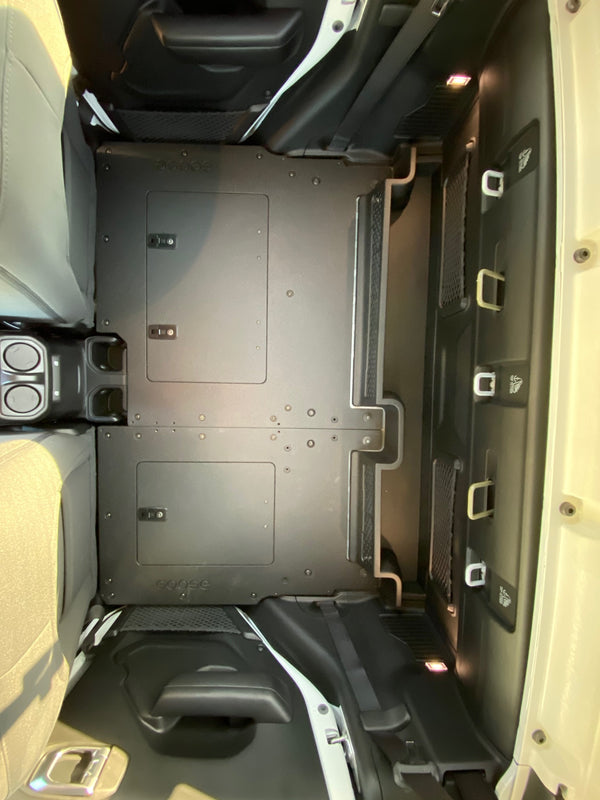 Jeep Gladiator Second Row Seat Delete Platforms 2019+
