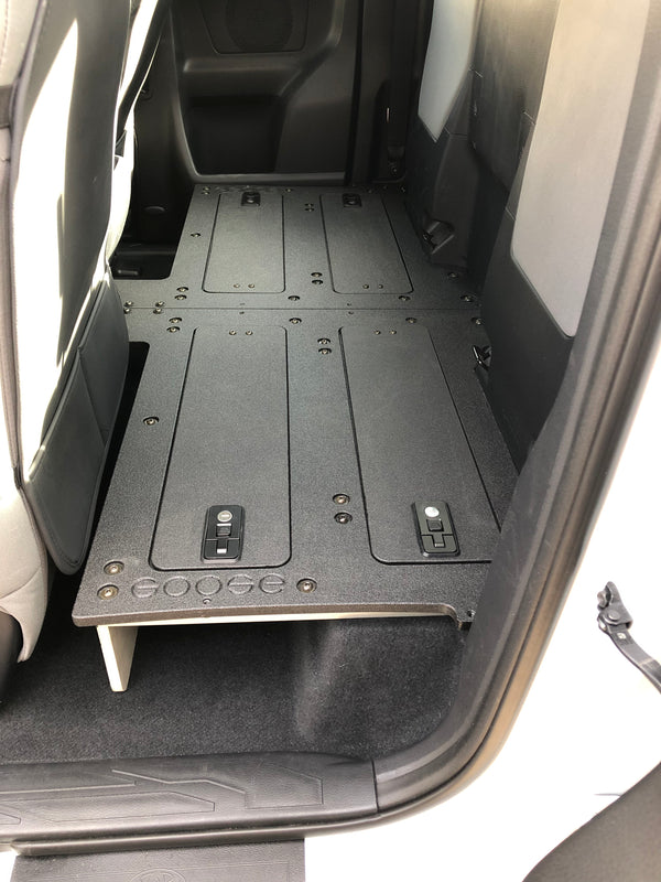 Tacoma Access Cab 2nd Row Seat Delete for 3rd Generation WITH FACTORY SEATS