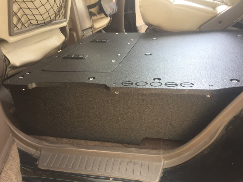 Land Cruiser 80 Second Row Seat Delete / Low Profile Sleeping Platform
