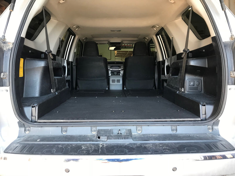 4Runner 5th Gen 3rd Row Seat Low Profile Plate Based Sleeping Platforms 2010-Current Model Years