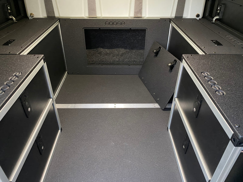 AluCab Canopy Camper Bulkhead Panel for Colorado/Canyon