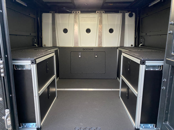 AluCab Canopy Camper Bulkhead Panel for Tacoma