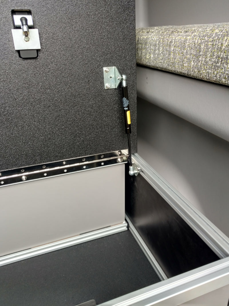 Winnebago Revel Top Storage System