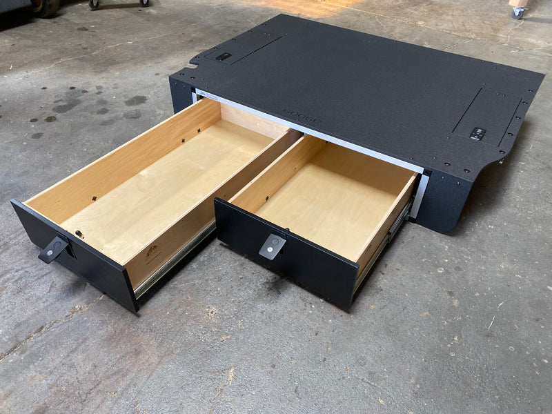 "LC200 Side x Side Drawer Module - 41 3/8"" Wide x 40"" Depth x 9-1/2"" Height"