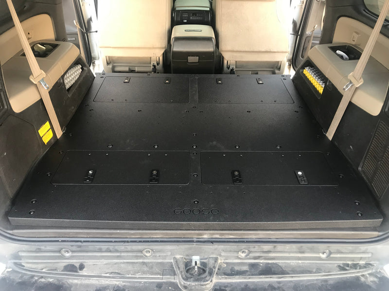 Toyota Sequoia 2nd Gen 3rd Row Delete Plate and Storage System
