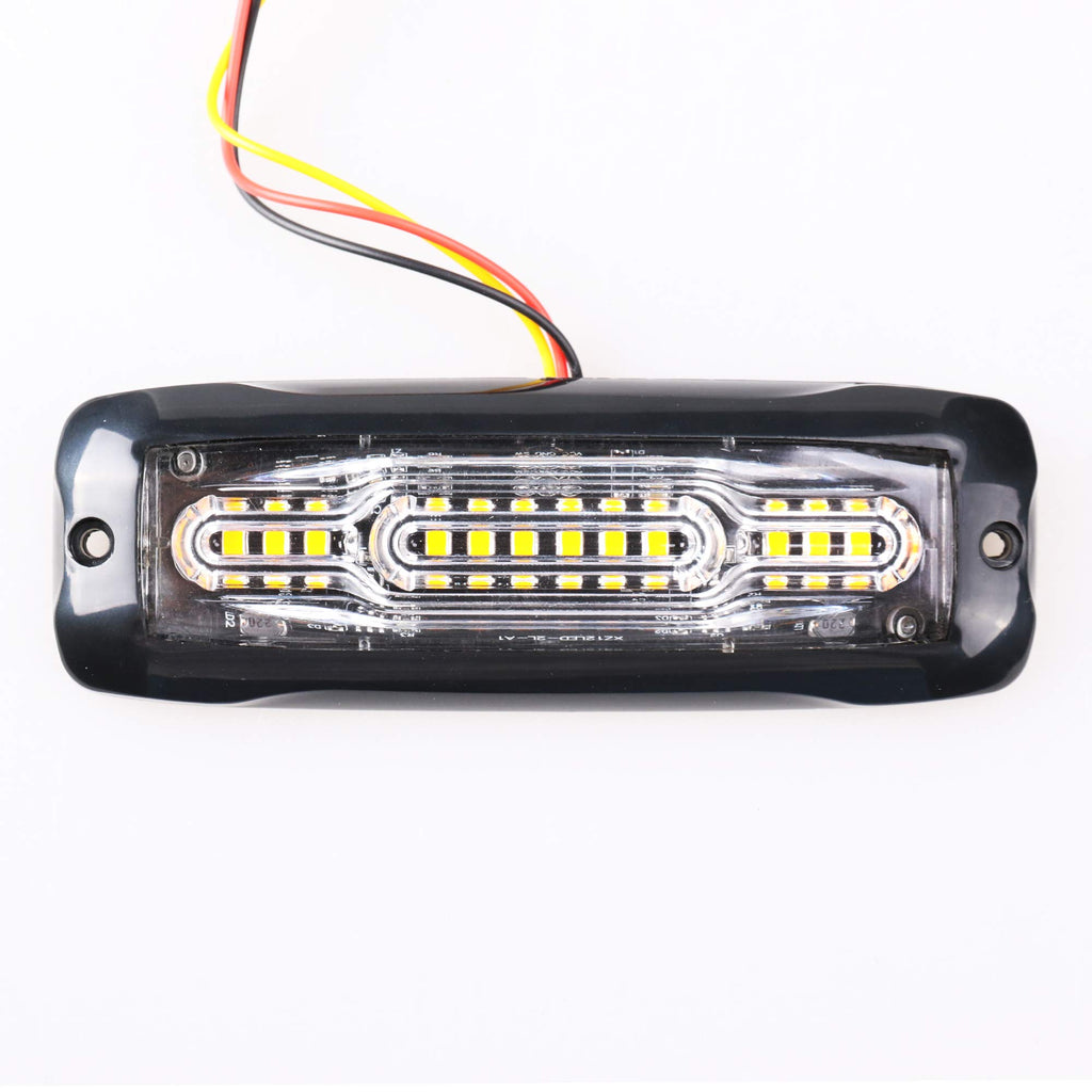 Amber 5.1-Inch 12-LED Super Bright (Pack of Two)