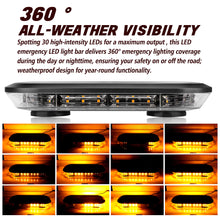 Load image into Gallery viewer, 12-inch 30 LEDs Emergency Automotive Strobe Mini Bar