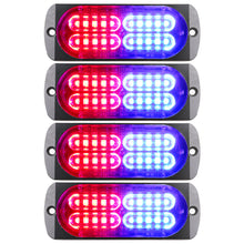 Load image into Gallery viewer, 4.4-inch 20 LED Ultra Slim Strobe Lighthead - 4 Pack