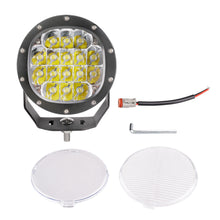 Load image into Gallery viewer, 5-inch Round Off-road LED Driving Light - 16x5W CREE - 7200 Lumens