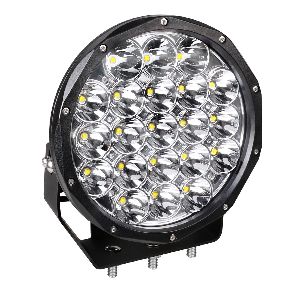 9-inch Round High Intensity Off-road LED Driving Light - 21x5W OSRAM