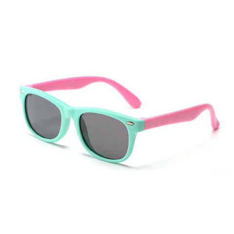 02. Flamingo Kids Sunglasses - 3 Little Monkeys