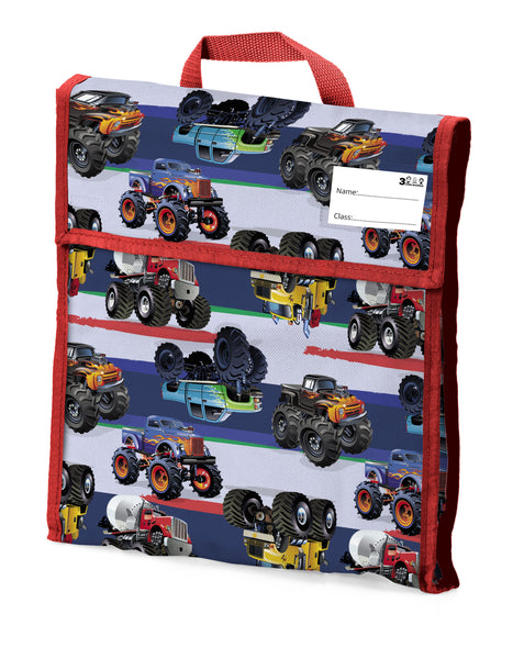 09. School Book Bag - Monster Truck