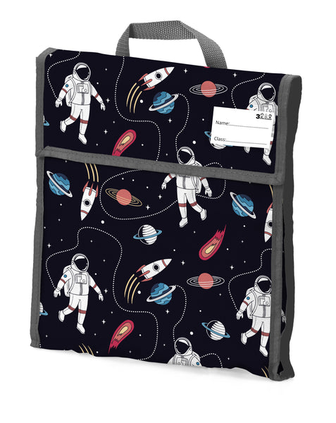 10. School Book Bag - Spaceman