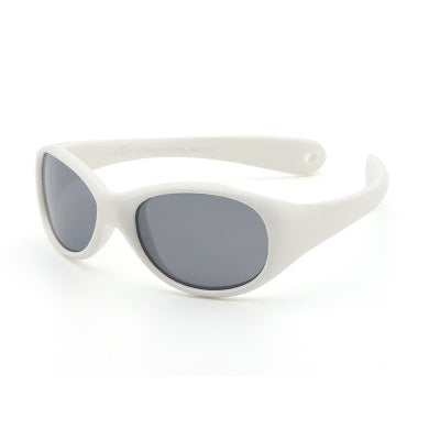 BABY Flexible Sunglasses - White