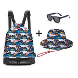 12. Monster Truck Swim Bag Pack - 3 Little Monkeys