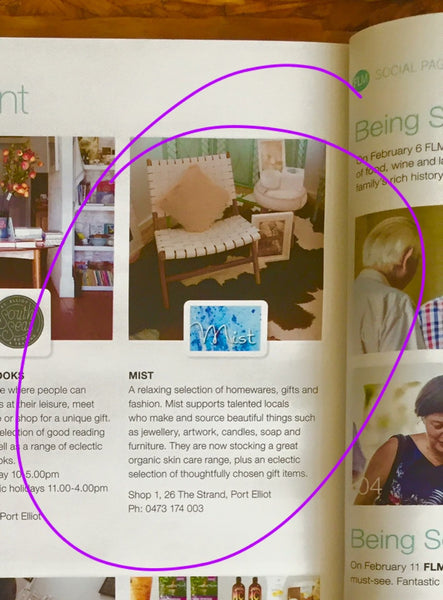 Land Of Lilly featured in Fleurieu Living Magazine!