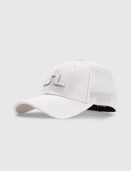 Bon Flexi Twill Cap - White