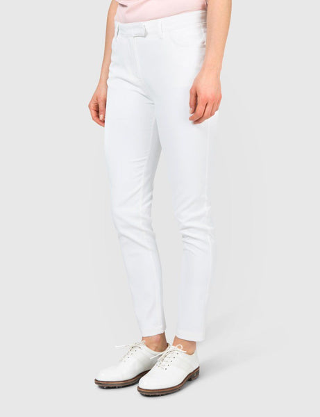 Jasmine Micro Stretch Pant - White