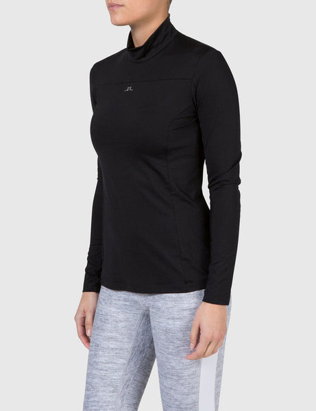 Charlotte Tech Active Wear Top - Black