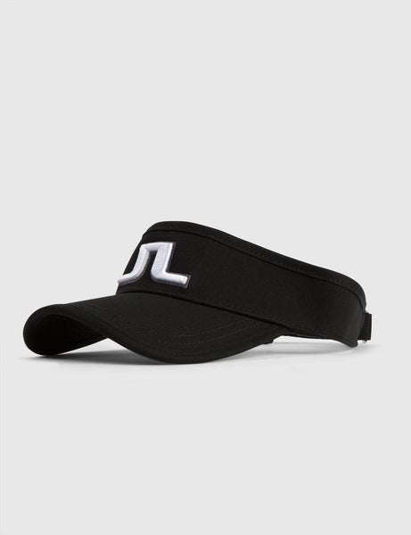Ree Flexi Twill Visor - Black