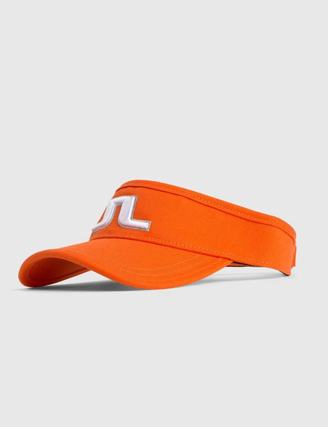 Ree Flexi Twill Visor - Racing Orange