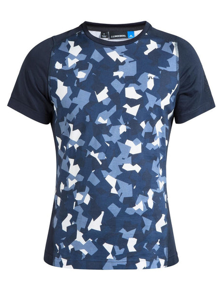 Cotton Liquid Tee - Montage Navy