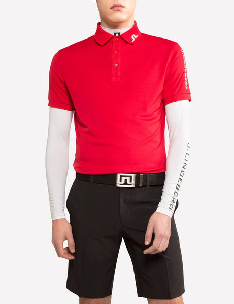 Tour Tech Reg TX Jersey Polo - Red Intense