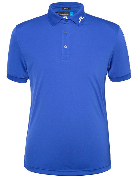 Tour Tech TX Jersey Slim Polo - Strong Blue
