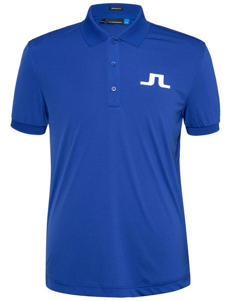 Big Bridge TX Jersey Polo - Strong Blue