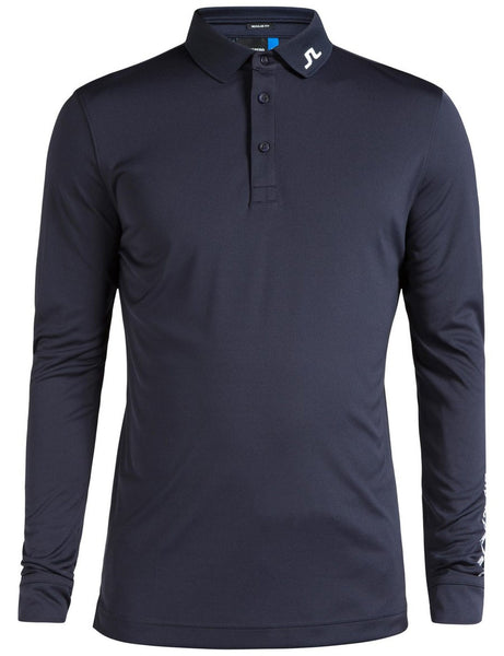 Tour Tech Reg TX Jersey Polo Long Sleeve - JL Navy