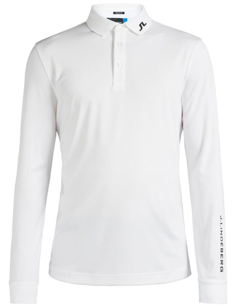 Tour Tech Reg TX Jersey Polo Long Sleeve - White