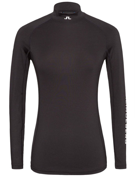 Åsa Soft Compression Top - Black