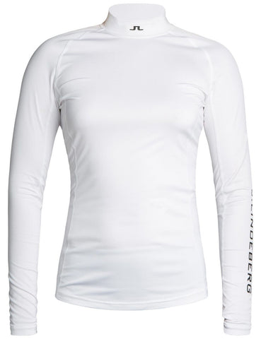 Åsa Soft Compression Top - White