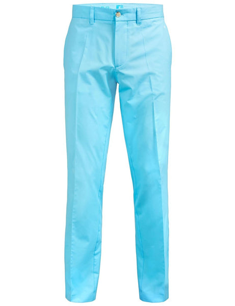 "Elof Reg Light Trouser - Acqua - 32"" Leg"