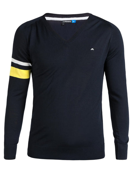 Kristoffer Light Merino Sweater - JL Navy