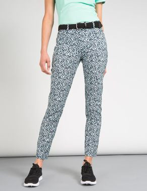 Freja Micro Stretch Trouser - Mosaic Mint