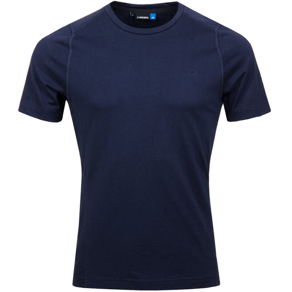 Cotton Liquid Tee - JL Navy